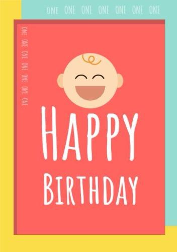 Create Memorable First Birthday Cards With DesignWizard