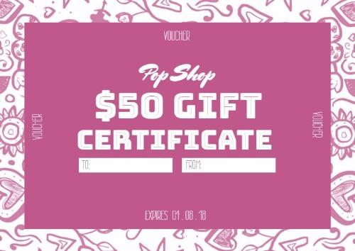 Create Personalized Gift Certificate And Vouchers With Design Wizard