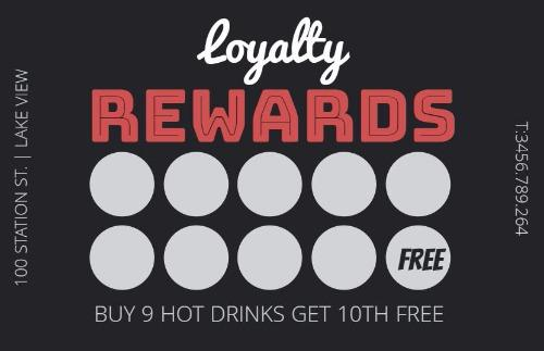 Loyalty Cards And Loyalty Card Program Design By Design Wizard - Free printable loyalty card template