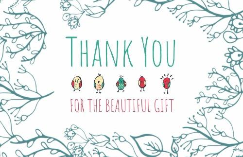 Create Your Custom Thank You Card Design Design Wizard
