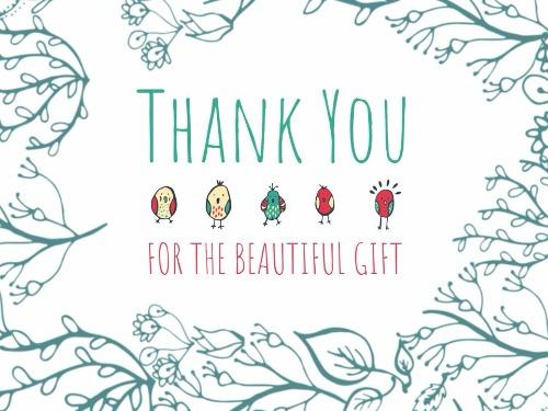 Create your custom thank you card design design wizard special thank you card spiritdancerdesigns Images