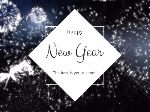 New Year\'s Eve Cards from Design Wizard Card Designer