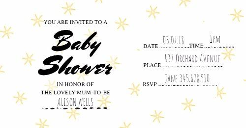 Baby shower invitations made easy with design wizard invitations maker click to edit filmwisefo