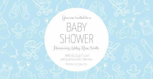 Baby Shower Invitations Made Easy With Design Wizard Maker