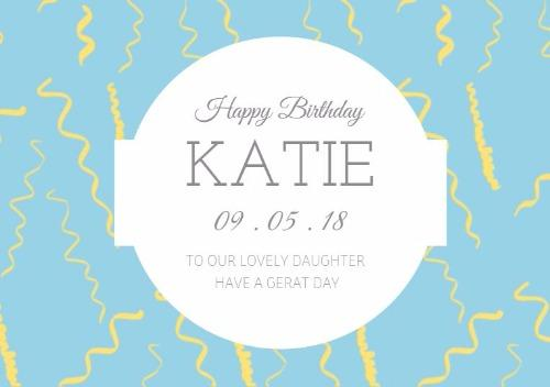 edit for free - Free Birthday Templates