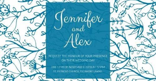 Wedding Invitations Creation Made Easy With Design Wizard Card Maker