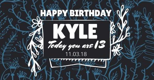 Happy Birthday Fonts ~ Create personalised birthday cards designs with designwizard