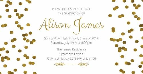 graduation party invitations announcements design wizard